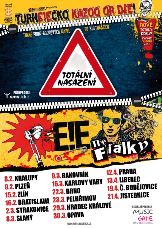 plakat Kazooordie tour2019